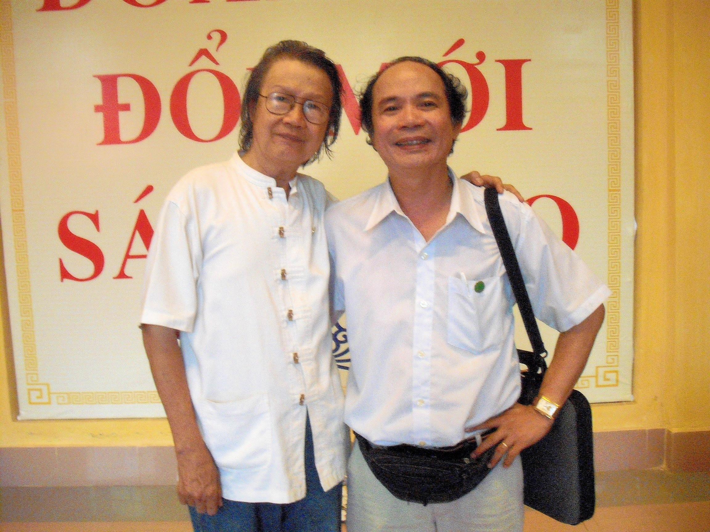 Cùng nhà thơ Nguyễn Trọng Tạo, 2010