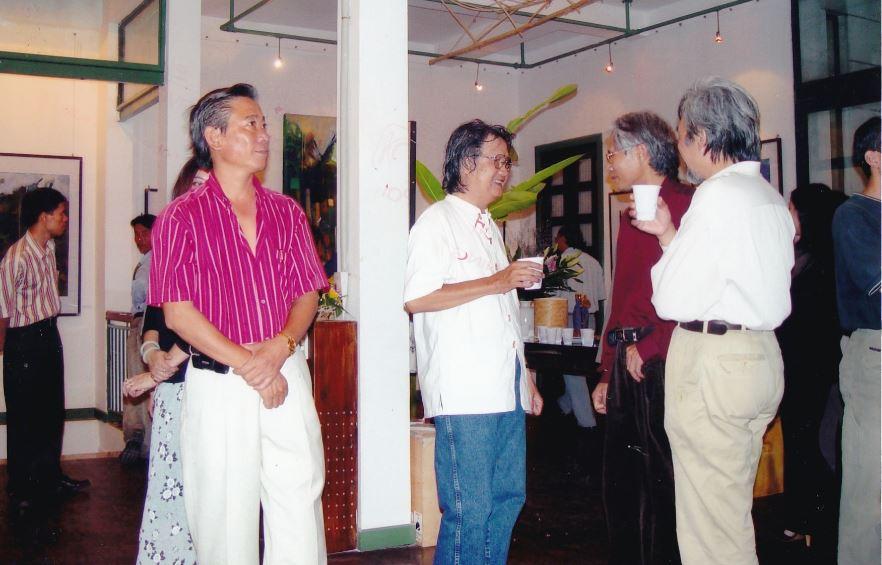 Dự triển lãm tranh Trần Hải Minh ngày 1/11/2003