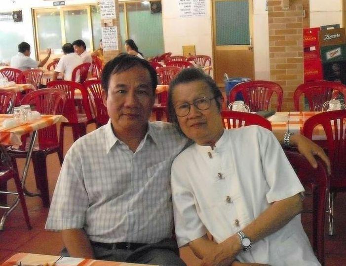 Trần Hoài Dương với nhà văn Trần Đức Tiến, Đại hội nhà văn lần 8 - năm 2010