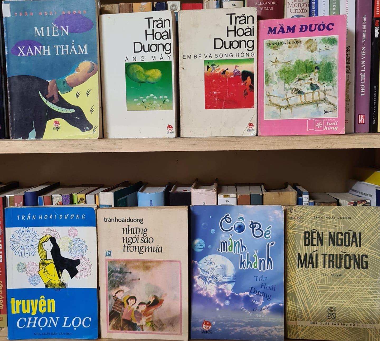 Những tác phẩm của Trần Hoài Dương ở TV TN Phạm Thế Cường được thiếu nhi ưa thích