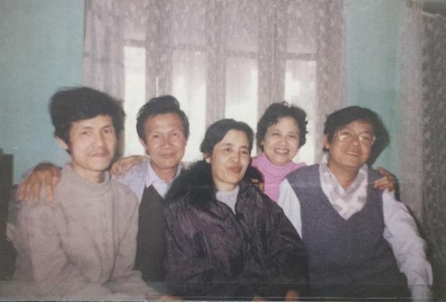 Trần Hoài Dương và các anh chị